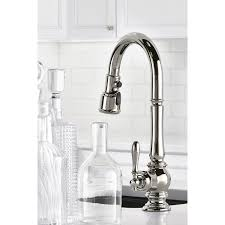 Kohler Purist Kitchen Faucet Kohler K 99261 Artifacts Single Hole Kitchen Sink Faucet Wih 16