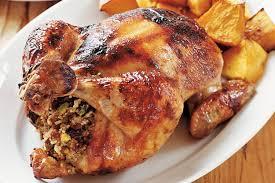 moroccan style roast chicken