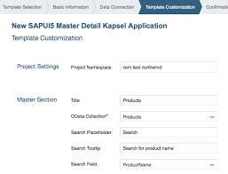 build an app from an sap web ide template sap