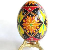 ukrainian easter eggs supplies pysanka egg in blue and ukrainian easter eggs by katya