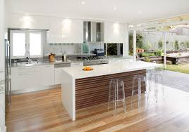 kitchen central island balgowlah midcentury kitchen sydney by collaroy kitchen centre