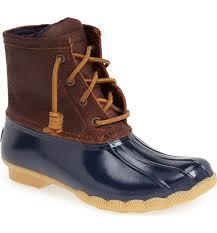 womens duck boots uk uk sperry saltwater duck boot navy discount