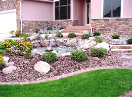 Home Front Yard Design House Front Landscaping Ideas Shining Design 1000 About Small