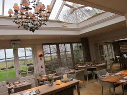 the conservatory restaurant at calcot manor hotel u0026 spa in the