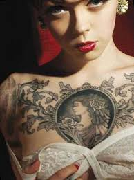 chest tattoos for designs ideas for and