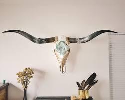 longhorn home decor sold wall art mosaic longhorn cow skull rustic home