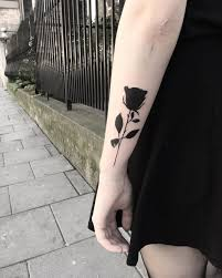 best 25 black ink tattoos ideas on pinterest forearm flower