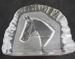 horseshoe paperweight paperweight etsy
