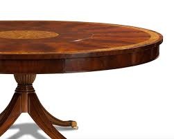 round mahogany dining table large round mahogany dining table with built in lazy susan
