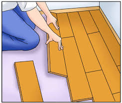 how to install cork flooring floating
