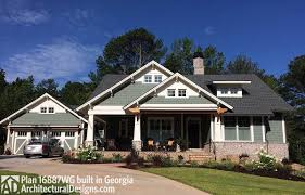 Architecturaldesigns Com by 3 Bedroom House Plan With Swing Porch 16887wg Architectural
