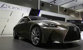 lexus toyota same company at lexus the chief still defends that spindle grille