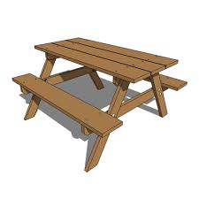 Build Wooden Picnic Table by How To Build A Round Wooden Picnic Table Woodworkingmunity Clipart