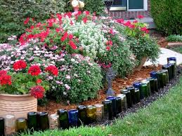 Bottle Garden Ideas Diy Wine Bottle Ideas For The Garden 26 Wine Bottle Uses