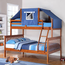 Donco Kids Twin Over Full Mission Bunk Bed Hayneedle - Donco bunk beds
