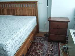 bedroom nightstand shaker style bedroom furniture american drew