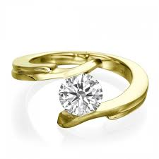 5 engagement ring solitaire engagement ring sieva 1 2 carat 0 50ct