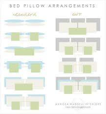queen bed pillows styling a bed satori design for living