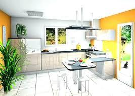 cuisine design en u cuisine avec bar pour manger delightful cuisine avec bar pour