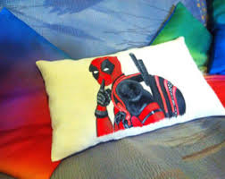 handpainted pillows etsy