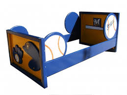 themed toddler beds sports theme toddler bed for boys room any sport team colors