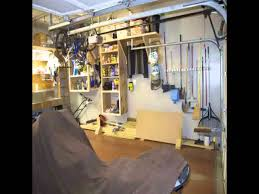 cheap garage workshop design youtube
