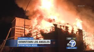 Apartments Downtown La by Suspect Arrested In Massive Dtla Apartment Complex Fire Abc7 Com