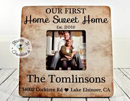 on sale first home picture frame gift our first home sweet home