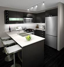Black And White Kitchen Decor by Engaging Kitchen Home Interior Furniture Design Ideas Show
