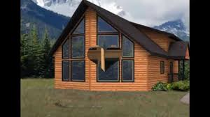 Small Post And Beam Homes Simple Home Designs With A Loft Chalet Lodge Style Log