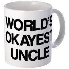 amazon com cafepress world u0027s okayest uncle mug unique coffee