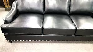 sofa with nailheads and leather sofa trim sofa blue leather sofa