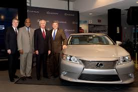 visit lexus factory japan toyota official suggests lexington be renamed lexus ton