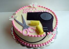 Hairdresser Birthday Cake A Piece Of Cake Utah