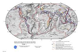 San Andreas Fault Line Map Mass Peacetime Natural Catastrophes And Disasters