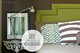 diy upholstered headboard w