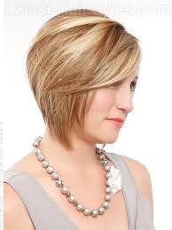 hairstyles short on an angle towards face and back a short chin length bob hairstyle side angle hair and nails