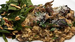 jamie oliver s best pasta salad recipe sides salads jamie s 30 minute mushroom risotto and spinach salad jono jules