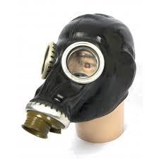 Masker Gas gasmask black gp 5