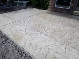 Stamped Concrete Patio Diy Installing A Stamped Concrete Patio Over An Existing Patio Home