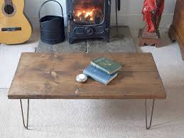 hairpin leg coffee table round coffee table scaffold board coffee table table ideas uk