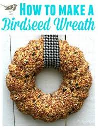 we made easy no bake bird feeders using coconut for all of our