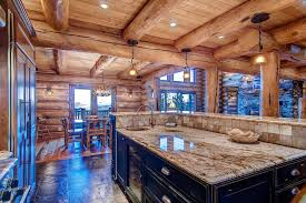Log Cabin Kitchens Cabinets  Design Ideas Designing Idea - Cabin kitchen cabinets