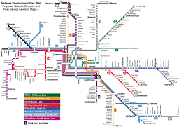 Miami Train Map by Ptv Train Map Train Station Map Melbourne Australia