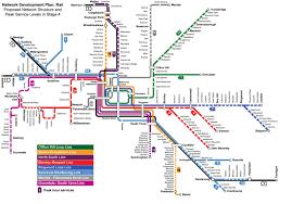 Dallas Train Map by Ptv Train Map Train Station Map Melbourne Australia
