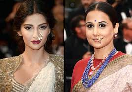 big nose rings images Ring a ring a noses after sonam vidya balan adds desi flavour jpg
