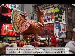 thanksgiving traditions and celebrations ppt