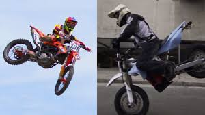 youtube motocross racing videos supermoto vs dirt bike warp 9 racing youtube