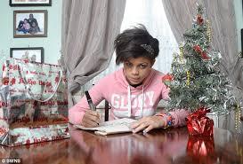 list 13 demands presents or says santa claus