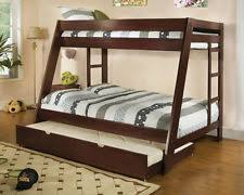 Bunk Bed With Trundle EBay - Wooden bunk bed with trundle